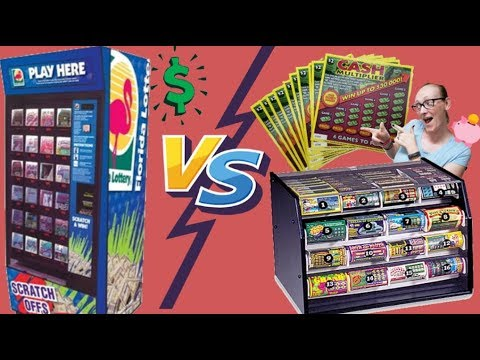 SCRATCH OFF TICKETS FROM MACHINE OR COUNTER? $30,000 CASH ...