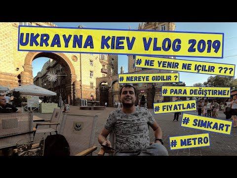 A'dan Z'ye Ukrayna Kiev Vlog! Para Değiştirme, Metro, Cafe
