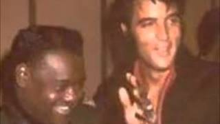 Elvis Presley & Fats Domino  -  Blueberry Hill  //  Love Me