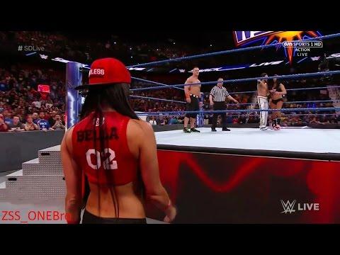 Cena w Nikki Bella V dango WWESmackdown