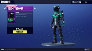 *NEW* SKINS IN FORTNITE !! HAZARD AGENT & TOXIC TROOPER Fortnite Battle Royale