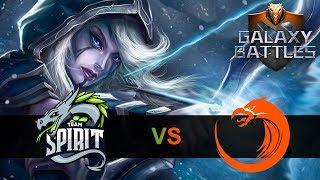 🔴SPIRIT ПЕРВЫЙ РАЗ НА МАЖОРЕ | ОПЛОТ СНГ | Team Spirit vs TnC Galaxy Battles II