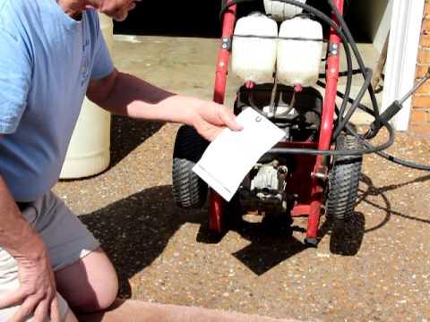 Troybilt Pressure Washer Water Inlet Repair Youtube