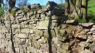 oprava zbytků původní zdi