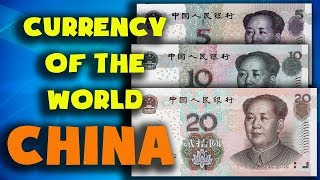 Currency of the world - China. Chinese yuan Renminbi. Exchange rates China.Chinese banknotes