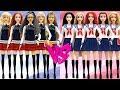 DIY Play Doh School Uniforms  Disney Princess Dolls VS Barbie Dolls Part 2