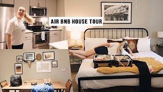 CUTEST EVER Airbnb house tour  Austin Texas