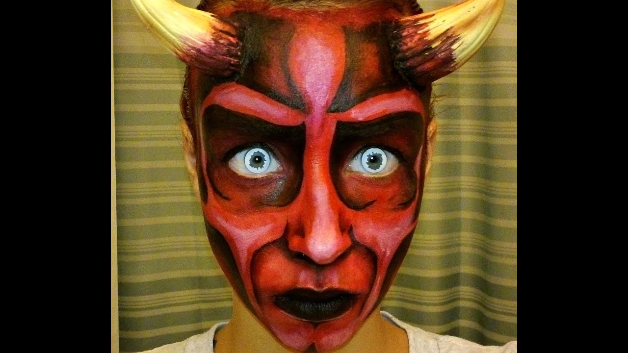Face Painting Face Painting Devil