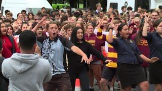 Nuova Zelanda, una haka per le vittime di Christchurch