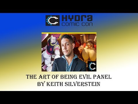 Hydra Comic Con 2017: The Art Of Being Evil By Keith Silverstein
