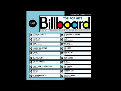 Billboard Top Pop Hits 1998 (2016 Full Album)