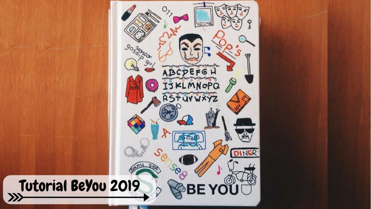 Come Decorare Il Diario Be You.Tutorial Diario Be You 2019 Tema Serie Tv Danydreams