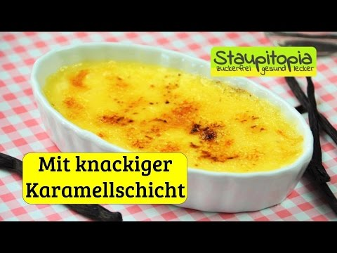 der beste low carb nachtisch low carb creme brulee selber. Black Bedroom Furniture Sets. Home Design Ideas