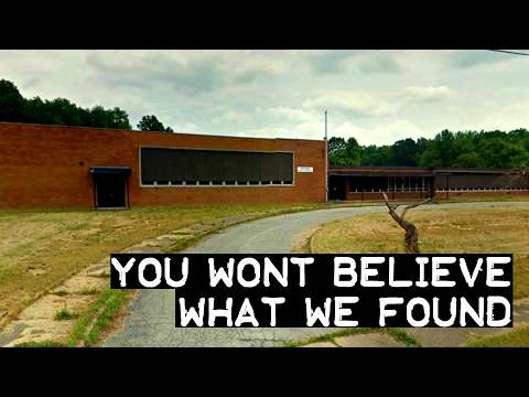 Abandoned - You Wont Believe What was found in This Abandoned School!