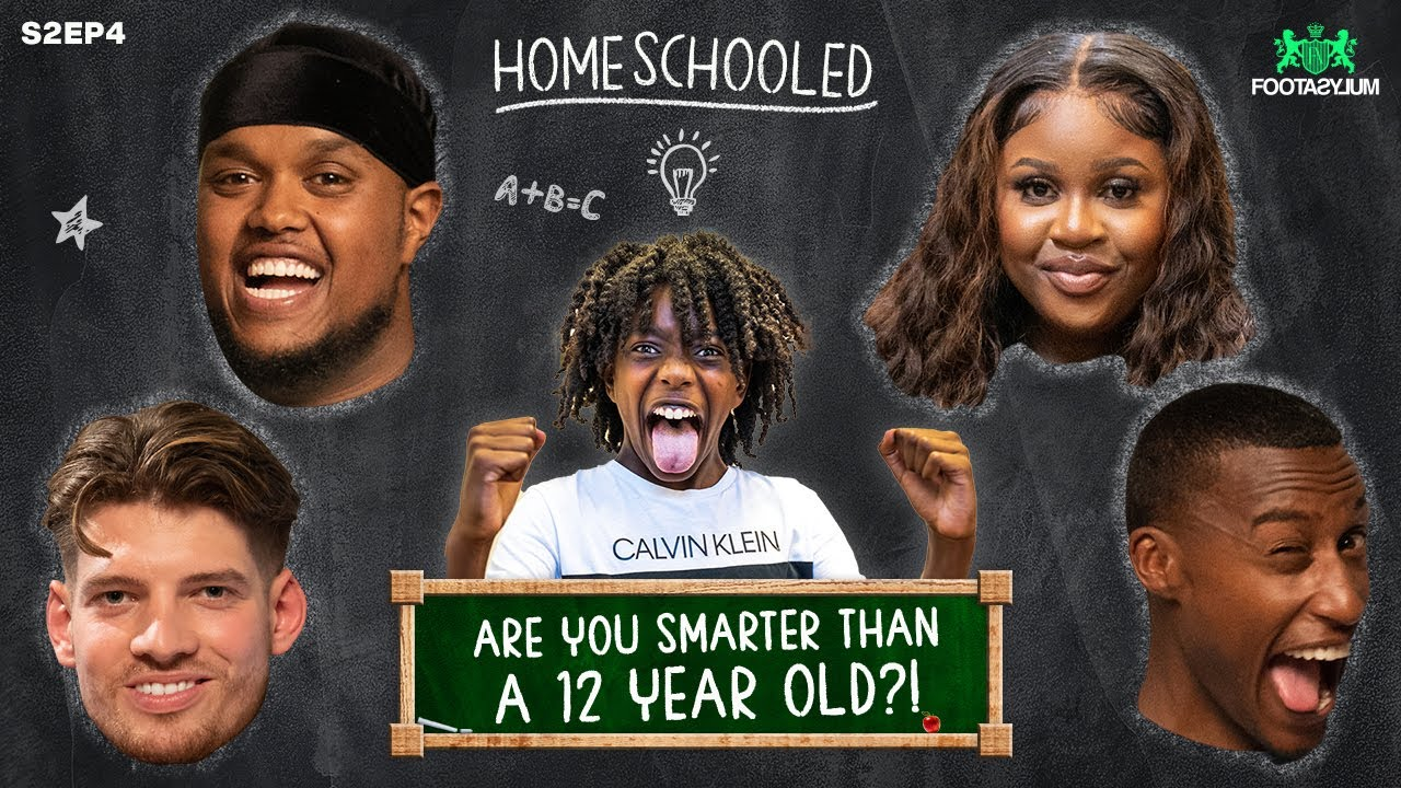 CHUNKZ, FILLY, NELLA ROSE AND JMX vs A 12 YEAR OLD!!!   Home Schooled   Ep 4