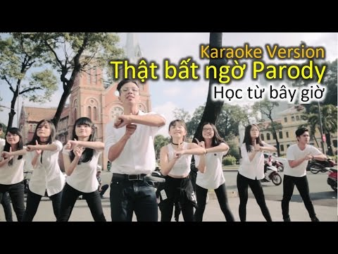 Thật bất ngờ Parody - 19 idioms in English - KARAOKE VERSION