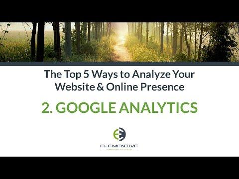 Top 5 Web Analytics Tools: Google Analytics