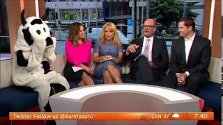 Channel 7 Sunrise make fun of Nine News Now