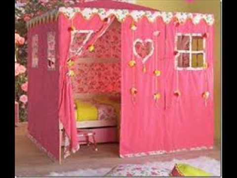 Decoracion de cuartos infantiles para nias 4  YouTube