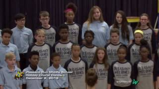 Pleasant Run Middle School Holiday Choral Concert: December 8, 2016