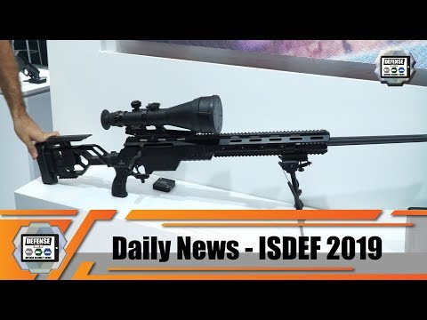 ISDEF 2019 International Defense And Security Exhibition Tel Aviv Israel Show Daily News Day 2