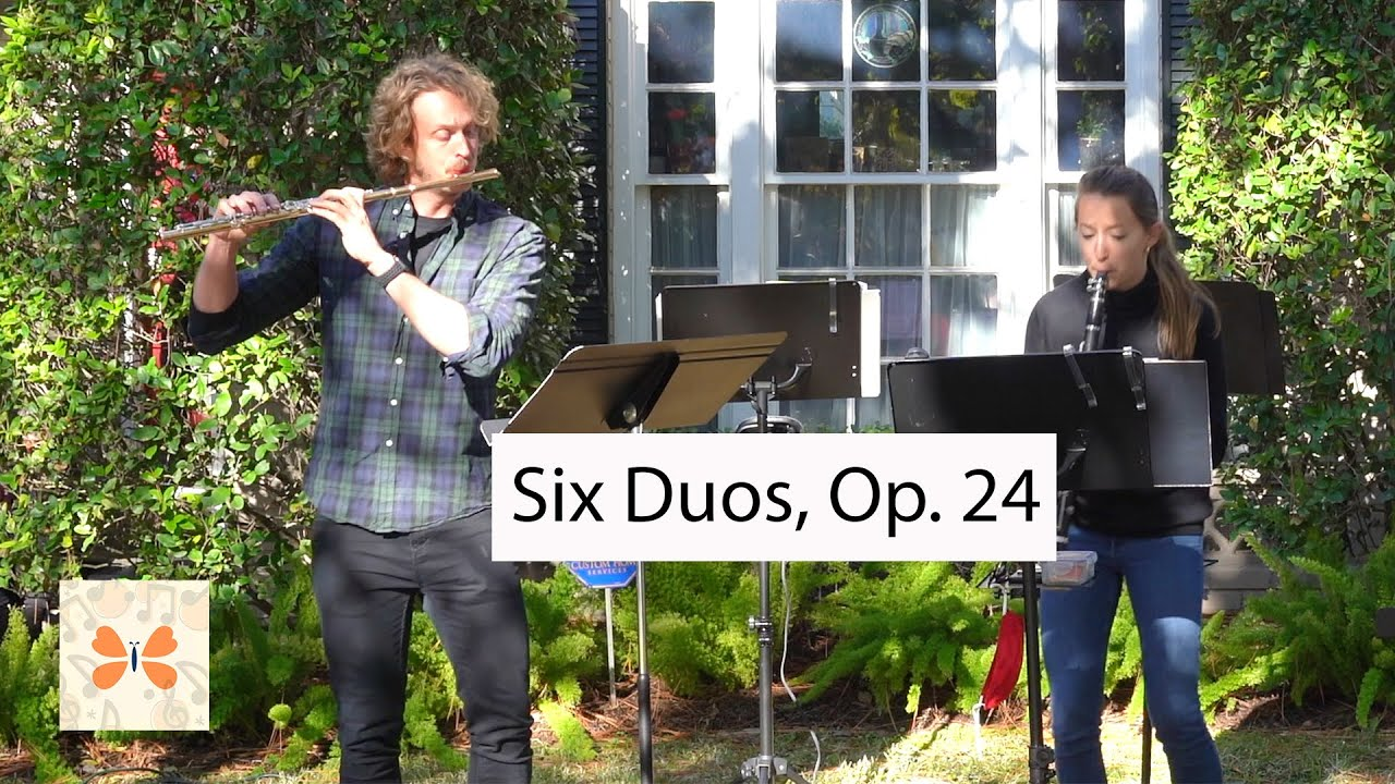 Six Duos for Flute & Clarinet by Robert Muczynski | Monarch Chamber Players