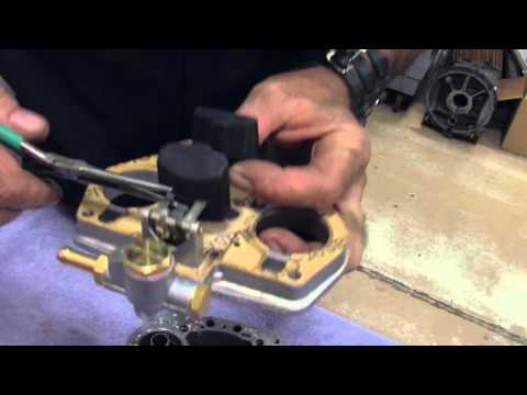 How to set Carb Float on IDF Weber - YouTube