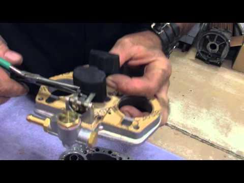 How to set Carb Float on IDF Weber
