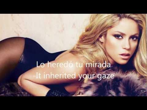 Shakira -I'm Addicted To You-  English & Español Lyrics