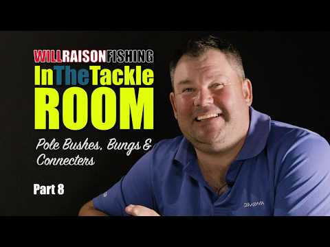 Pole Fishing Bushes, Bungs & Connecters | In The Tackle Room Part 8