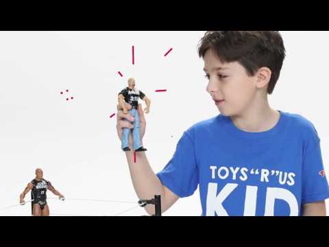 Kids Unboxing Toys Episode 11 WWE® TOUGH TALKERS INTERACTIVE RING