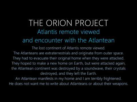 Atlantis | Remote View | The Orion Project