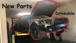 Rebuilding a wrecked 2012 Dodge Charger part 2