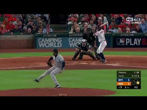 Carlos Correa Walk Off RBI Double vs Yankees | Astros vs Yankees Game 1 ALCS