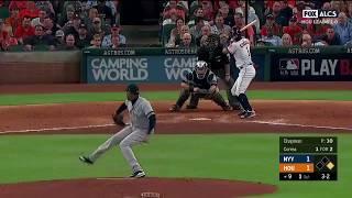Carlos Correa Walk Off RBI Double vs Yankees | Astros vs Yankees Game 1 ALCS
