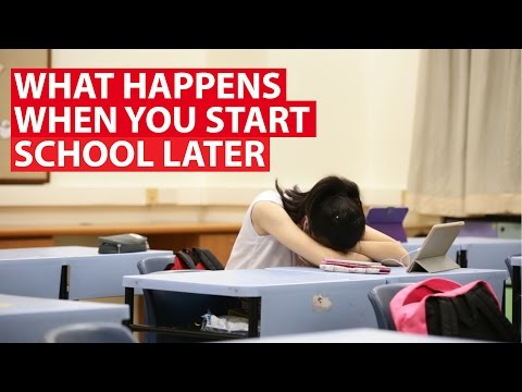 What Happens When You Start School Later: Tackling Sleep Deprivation