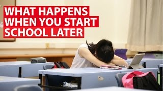 What Happens When You Start School Later: Curbing Sleep Deprivation | CNA Insider