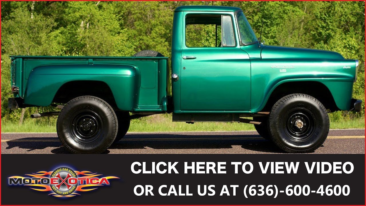 1958 International Harvester A 120 All Wheel Drive