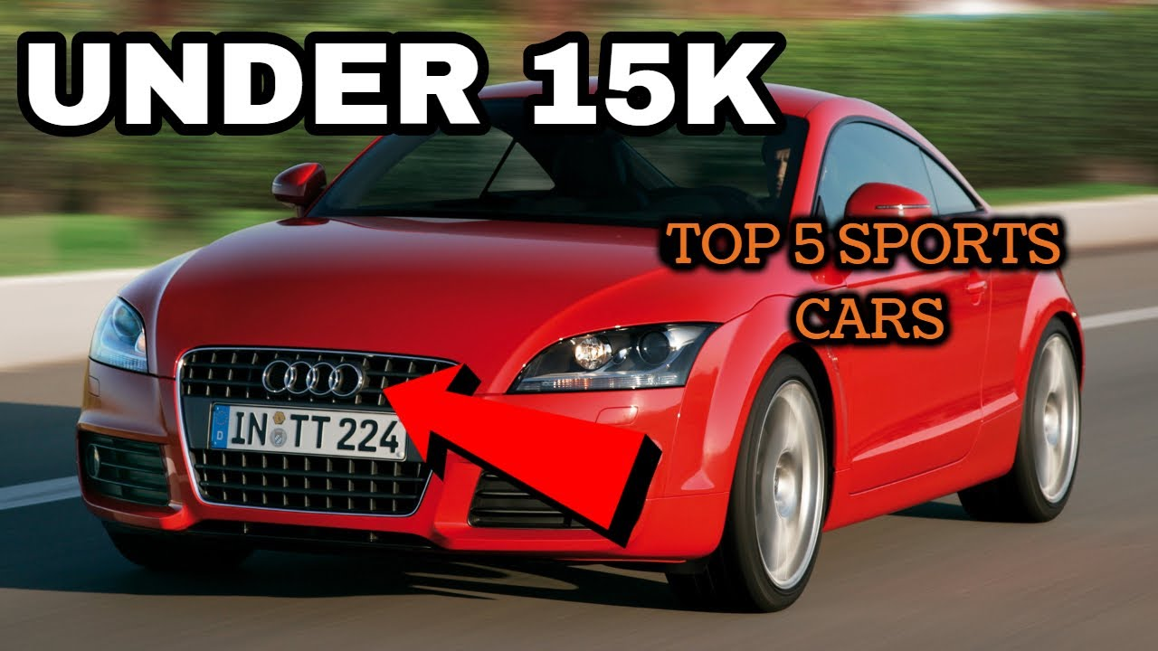 Sports Cars Under 15k >> 5 Sports Cars You Can Afford Under 15k Youtube