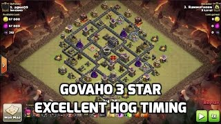 GoVaHo 3 Star on Maxed Base, Great Hog Timing | Mister Clash | Clash of Clans