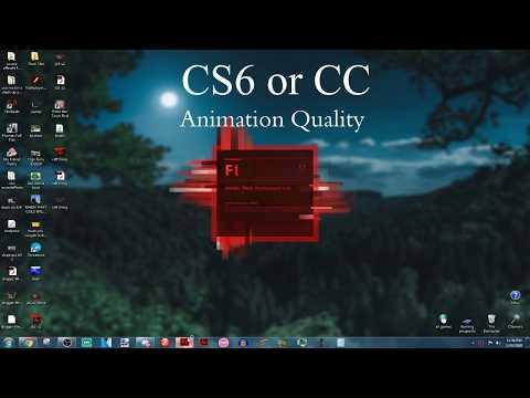 Cs6 Vs CC Animation Style