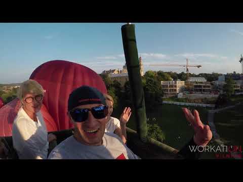 2018 Workation Vilnius: Winning Experiences