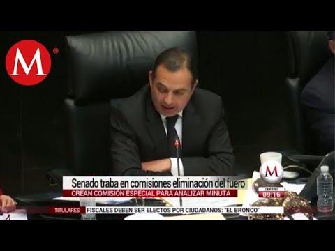 Senado frena eliminar fuero para políticos y presidente de México