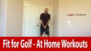 Increase Stability and Flexibility in your Turn | The Golf Yogi | Tour Striker Golf Academy