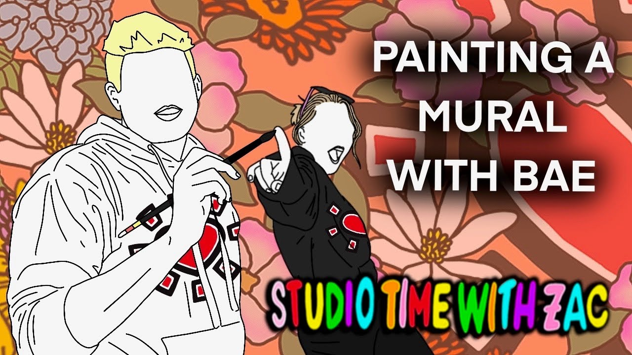 Painting A Mural With My Baby Momma - Studio Time With ZAC #042