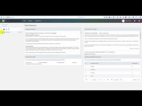 Вход в админ панель (панель управления сайтом) CMS ModX Revolution