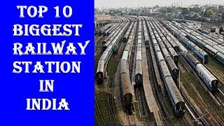 Top 10 Biggest And Busiest Railway Station In India |  Top Videos