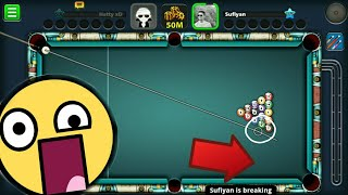 8 ball pool best break ever updated version