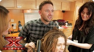 Our Final Three get gossiping in the TRESemmé Hair Salon - The X Factor UK 2013