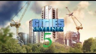 Cities Skylines Район Лесной Промышленности #5